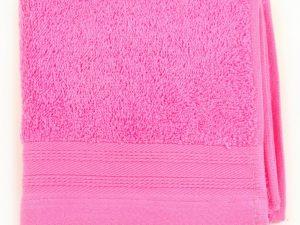 Toalla rosa