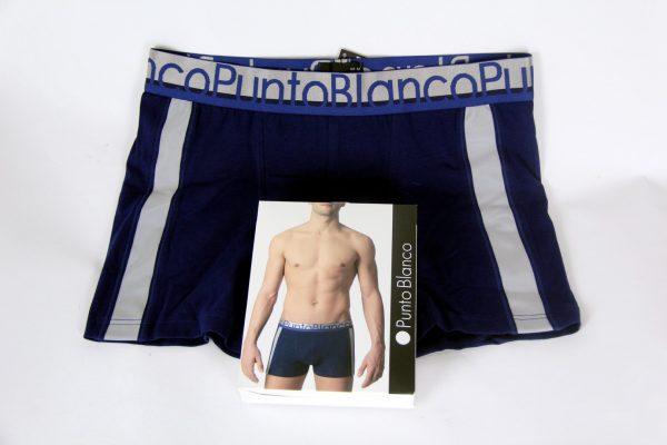 Boxer punto blanco