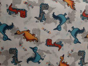 Tela Loneta Dinosaurios