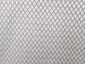 Cortina jaquard gris