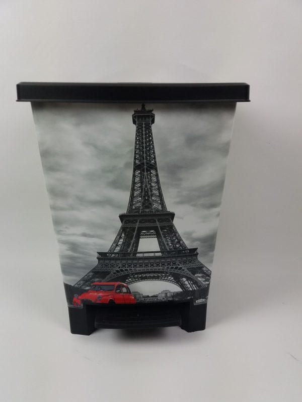 Cubo de basura París