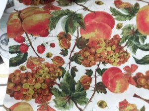 Loneta Estampada Frutas