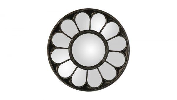 Espejo decorativo de resina plateado