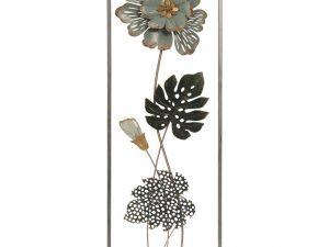 Aplique de metal flores