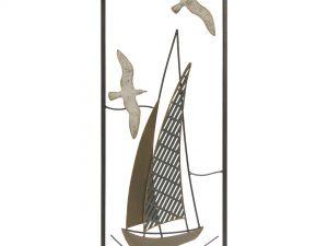 Aplique de metal barco