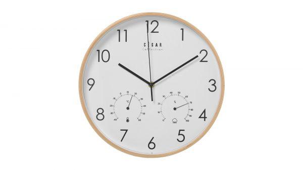 Reloj y termómetro
