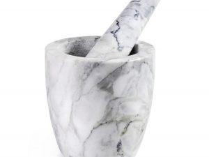 Mortero de mármol