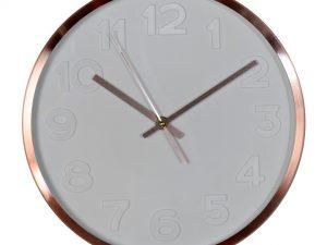 Reloj de pared cobre