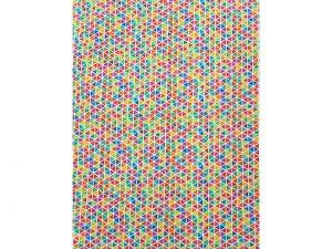 Tela patchwork geometrico