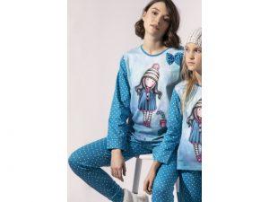 Pijama Mujer Algodón Gorjuss