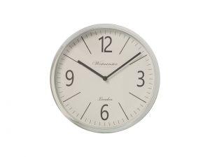 Reloj Metal Plateado