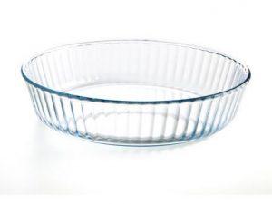 Molde tartas vidrio