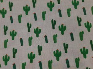 Tela Algodón Cactus