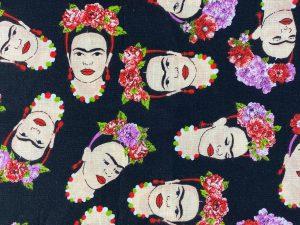 Tela para mascarilla Frida Kahlo