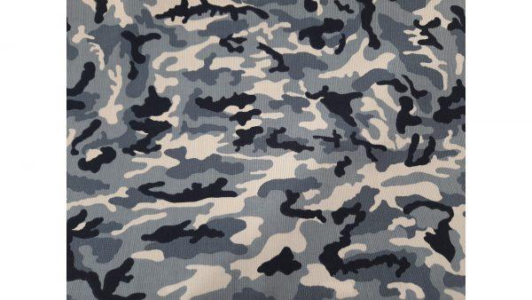 Tela hidrófuga camuflaje azul