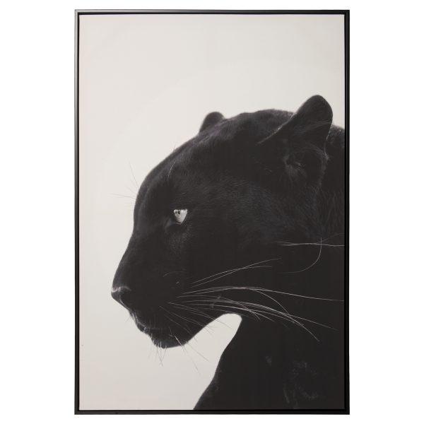 Cuadro Pantera Negra