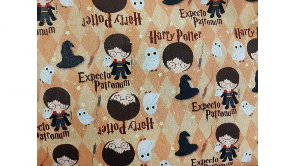 Tela Mascarillas Harry Potter