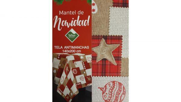 Mantel Navidad Antimanchas 140x200