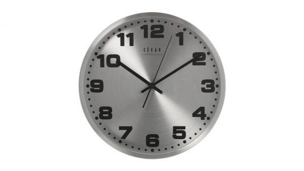 Reloj Pared Plateado