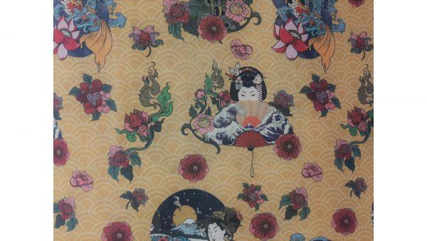 Tela loneta Geisha