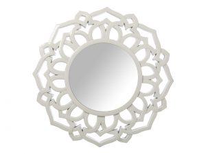 Espejo Resina Blanco