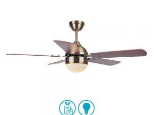 Ventilador Lámpara Pontia Cuero