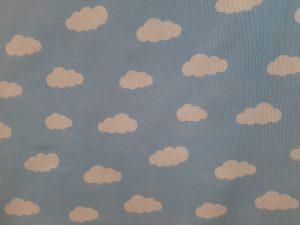 Tela ingantil nubes