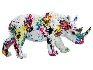 Figura Rinoceronte Colores